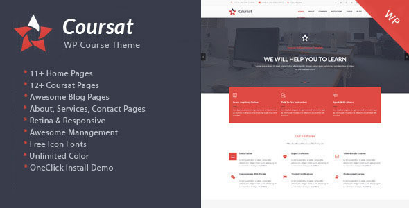 Coursat – Multipurpose WordPress Enquiry Portal