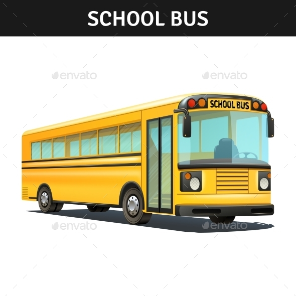 School Bus Design  - Man-made Objects Objects