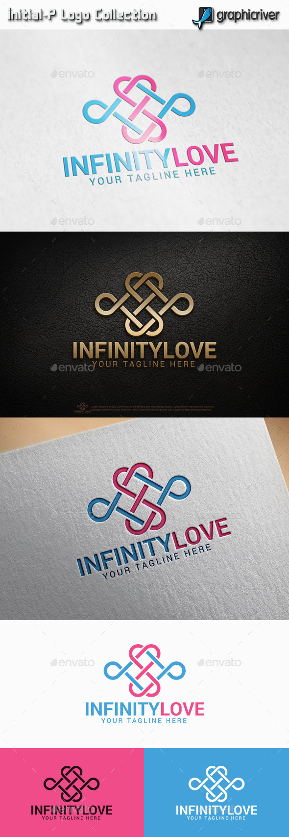 Infinity Love - Abstract Logo Templates