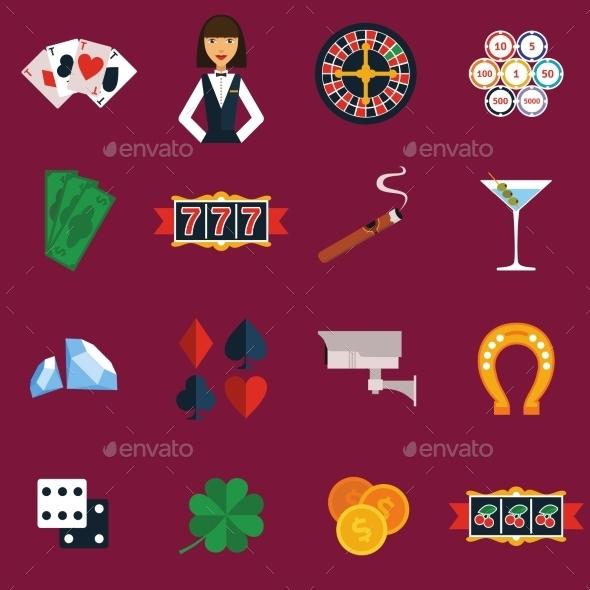 Casino Icons Set - Business Icons