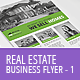 Real Estate - Business Flyer Template 1 - GraphicRiver Item for Sale