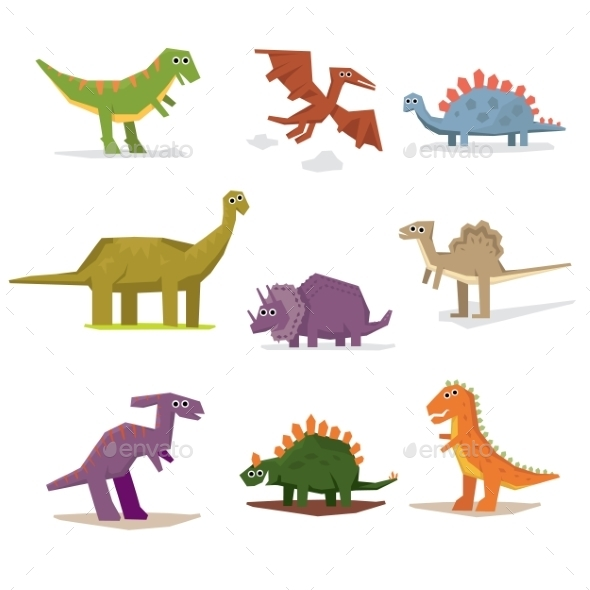 Dinosaurs and Prehistoric Period - Monsters Characters