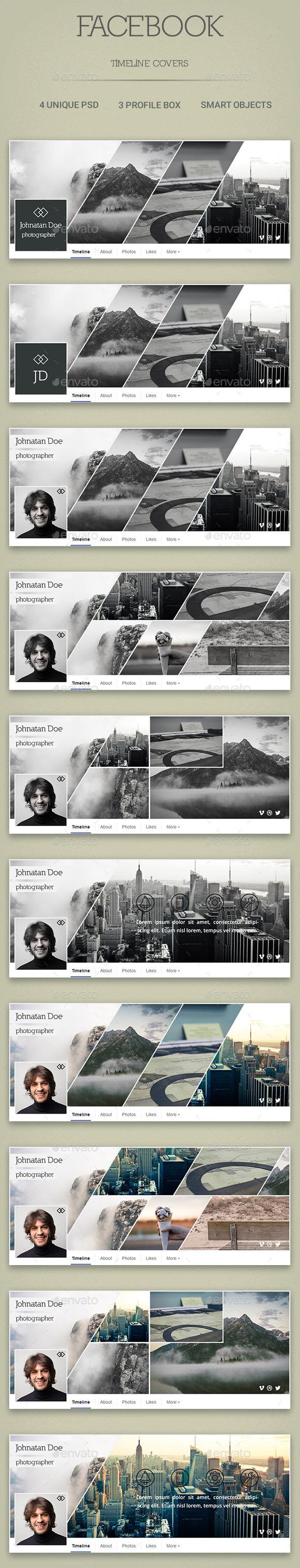 Four Facebook Timeline Cover - Facebook Timeline Covers Social Media