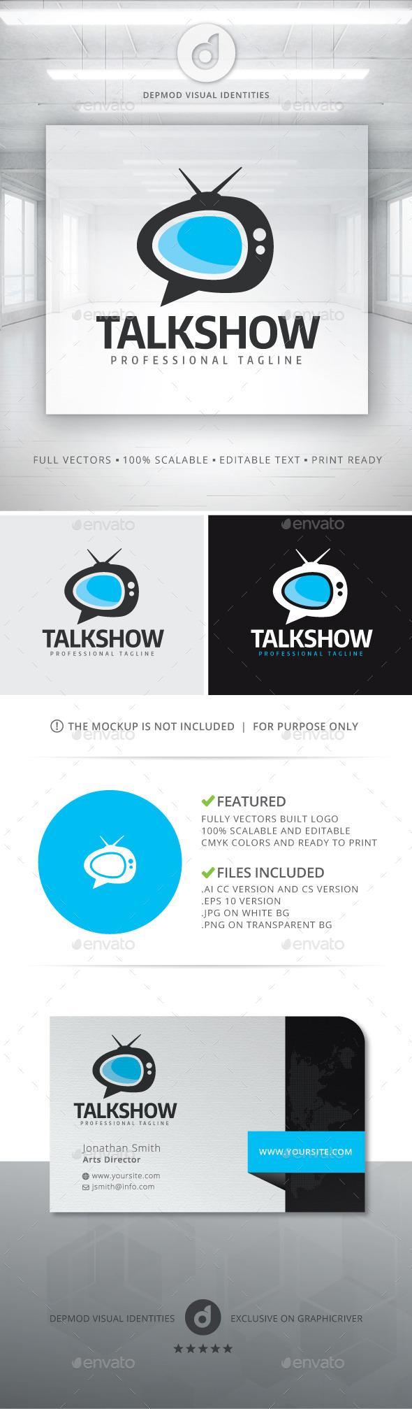 Talk Show Logo - Objects Logo Templates