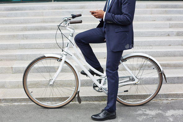 Modern businessman - Stock Photo - Images