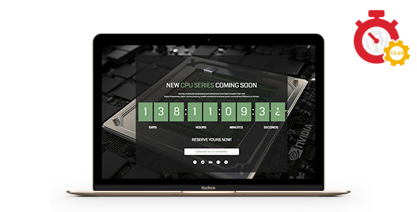Responsive Coming Soon Landing Page for Wordpress  - CodeCanyon Item for Sale