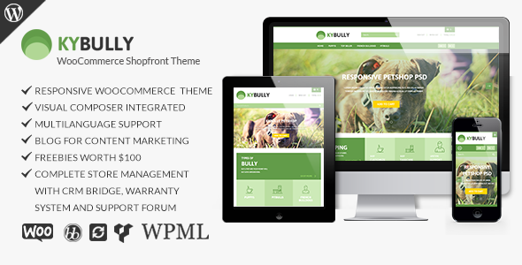 Kybully – Responsive WooCommerce Shopfront Theme