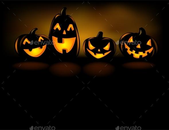 Laughing Halloween Lanterns - Halloween Seasons/Holidays