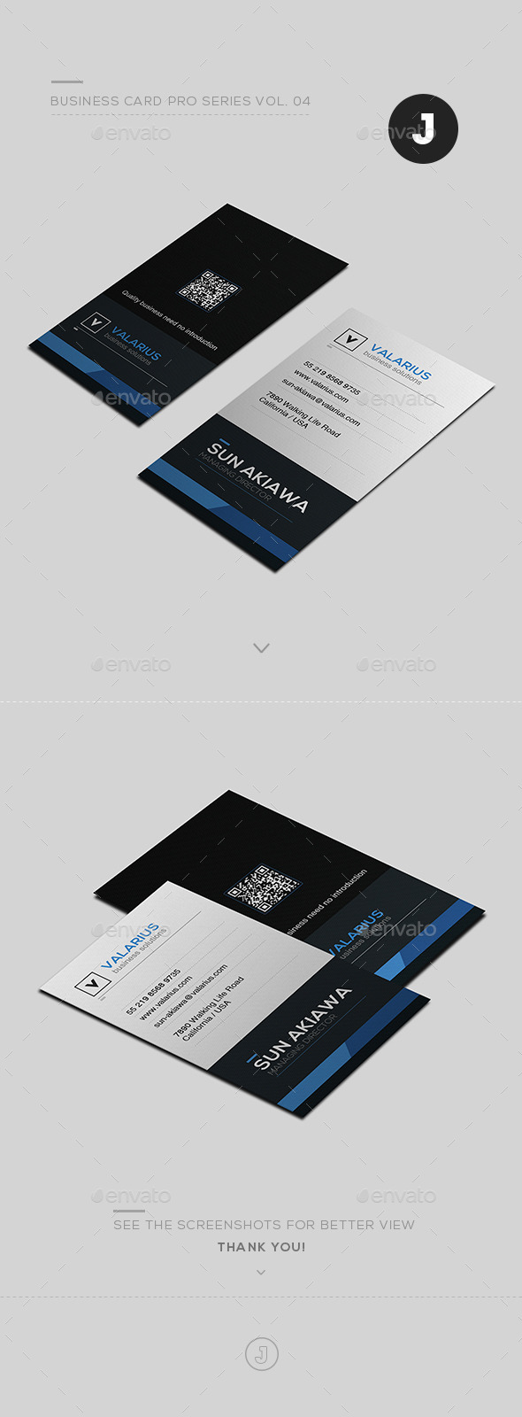 Business Card Pro Series Vol. 04 - Creative Business Cards