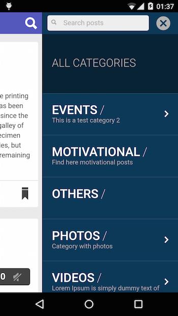 ionWordpress   Ionic Wordpress mobile app   IonicThemes