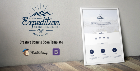 Expedition - Responsive Coming Soon