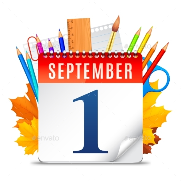 First September Calendar