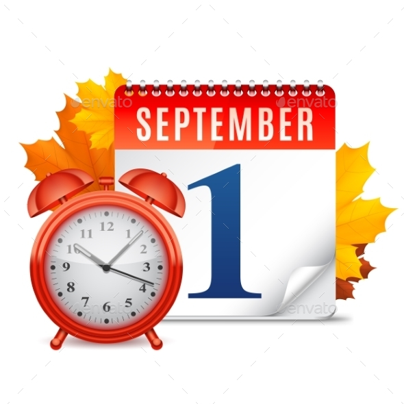 First September Calendar - Seasons Nature