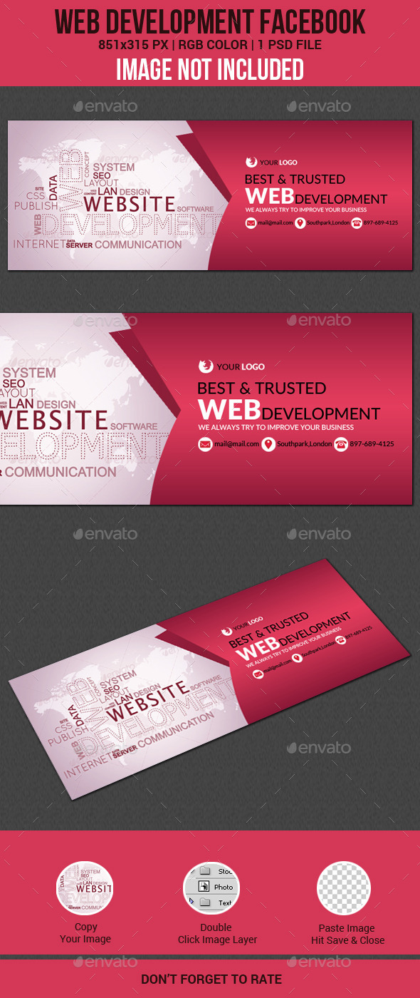Web Development Facebook Cover