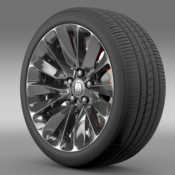 Acura RLX wheel - 3DOcean Item for Sale