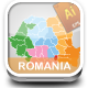 Vector Romania Map  - GraphicRiver Item for Sale