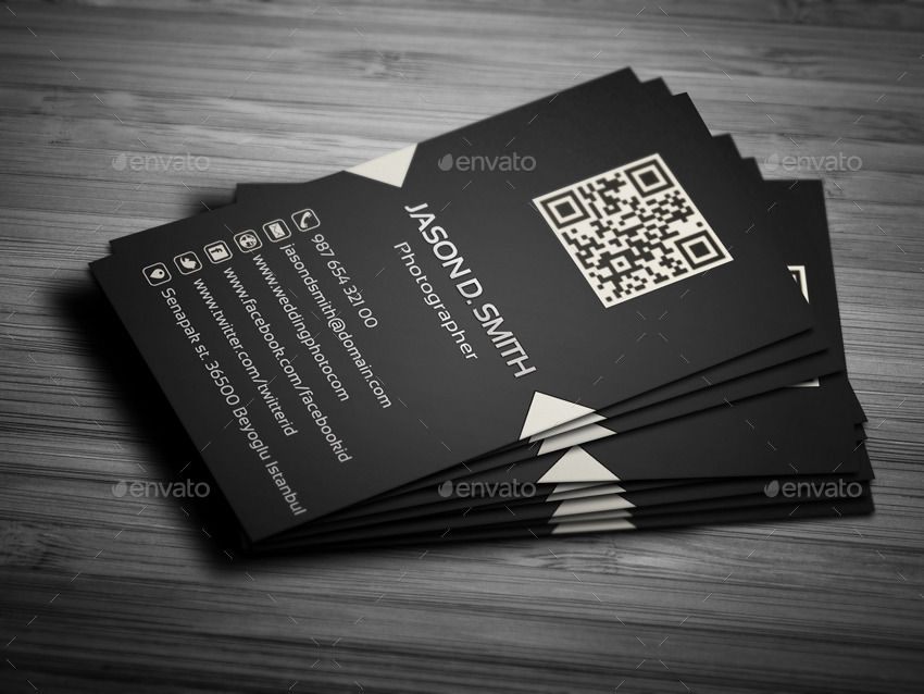 Wedding Photographer Business Card by YFguney | GraphicRiver