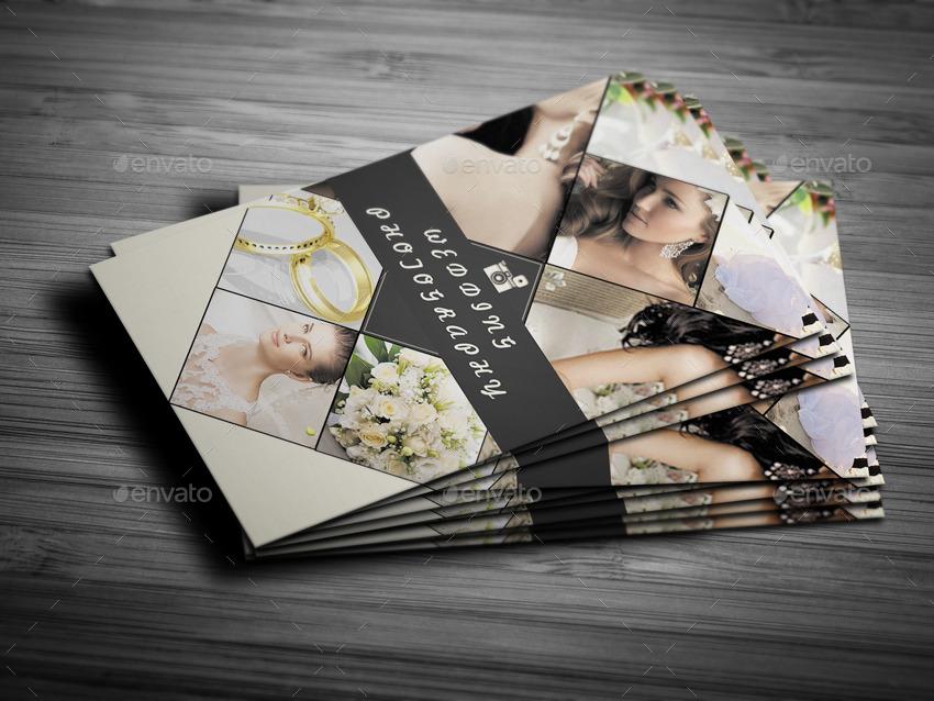 Wedding photographer business card by yfguney graphicriver wedding photographer business card industry specific business cards prewievimageset01prewievg reheart Image collections