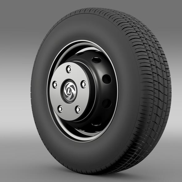Ashok Leyland wheel - 3DOcean Item for Sale