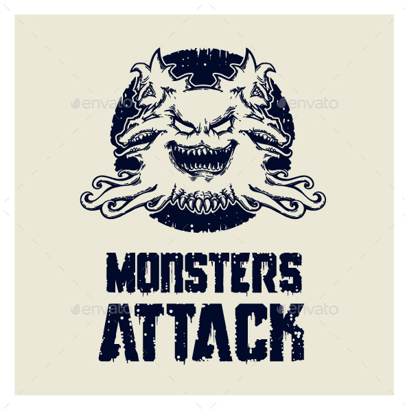 Monsters Attack - Monsters Characters