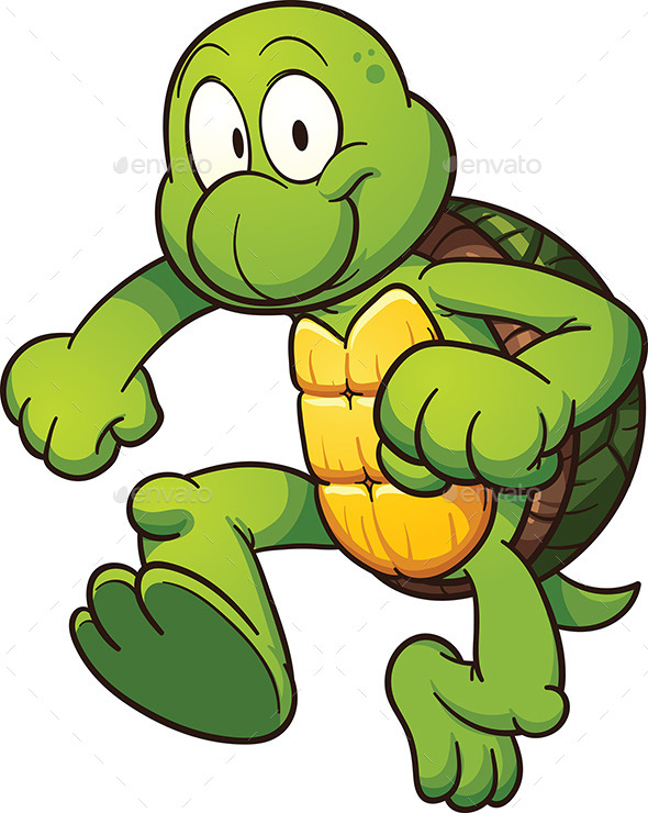 Cartoon Turtle - People Characters