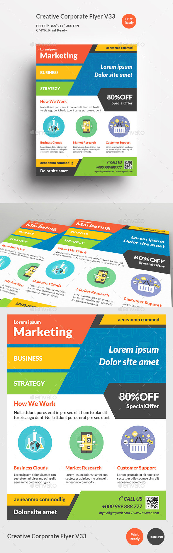 Creative Corporate Flyer V33 - Corporate Flyers