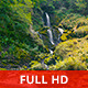 Magic Waterfall in a Wild Landscape - VideoHive Item for Sale