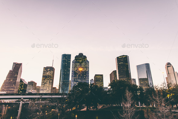 CItyscape of Houston - Stock Photo - Images