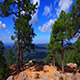Running off Cliff in Northern Arizona - VideoHive Item for Sale
