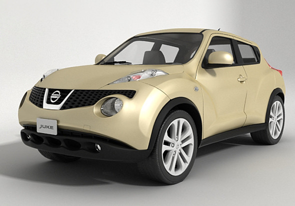 Nissan Juke 2013   3DOcean Item For Sale