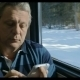 Senior Man Texting On Cell Phone In Train - VideoHive Item for Sale