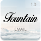 Fountain - Modern Email Template + Online Editor - ThemeForest Item for Sale
