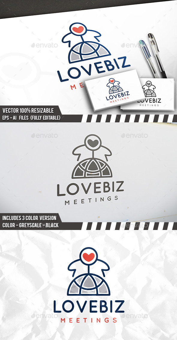 Love World Logo - Symbols Logo Templates