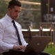 Young Man Working With a Laptop In Park - VideoHive Item for Sale