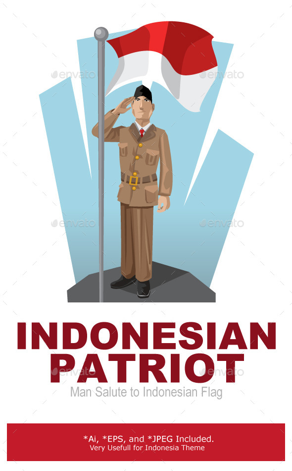 Indonesian Patriot - People Characters