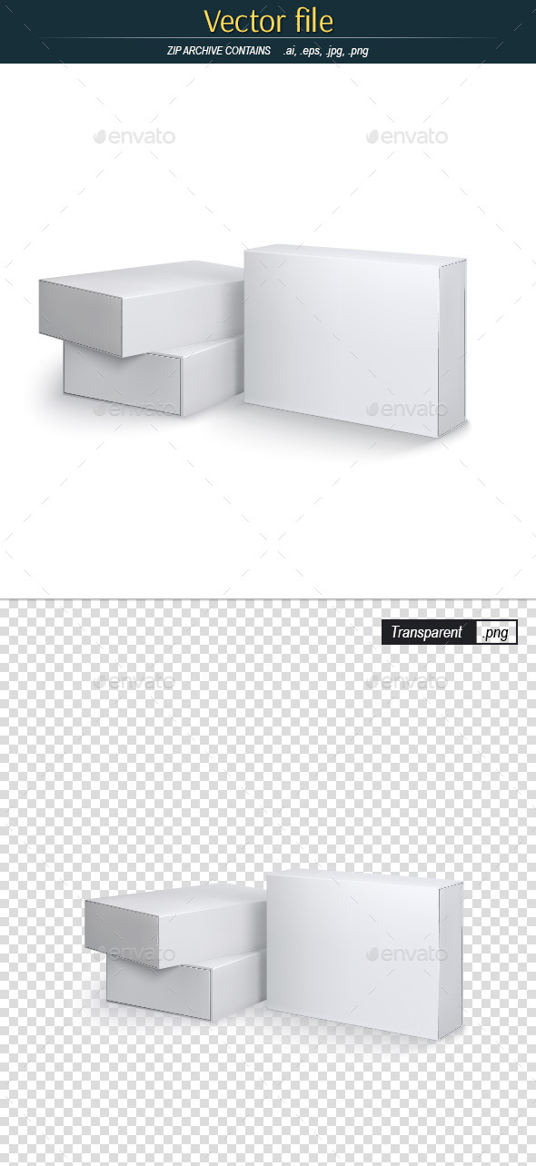 Packing Boxes - Objects Vectors