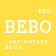BEBO -  Book's Landingpage PSD - ThemeForest Item for Sale