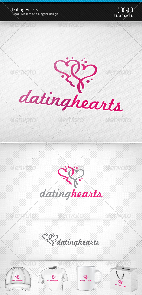 Dating Hearts Logo