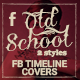 Old School Facebook Timeline Covers - GraphicRiver Item for Sale