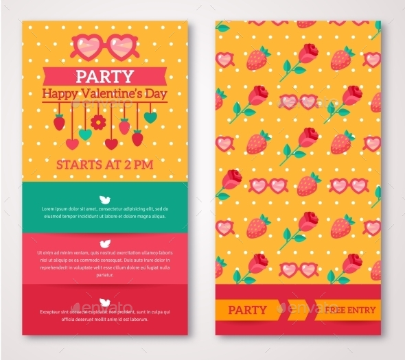 Greeting Or Invitation Cards - Valentines Seasons/Holidays