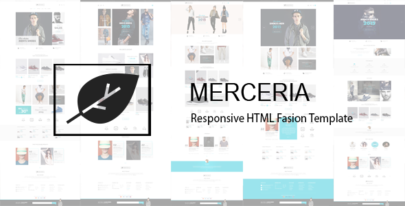 Merceria – Responsive HTML Fashion Template