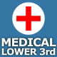 Medical Lower Third - VideoHive Item for Sale