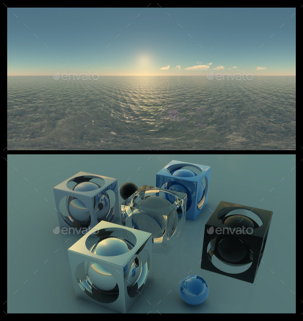 Ocean Clear Sky - HDRI - 3DOcean Item for Sale