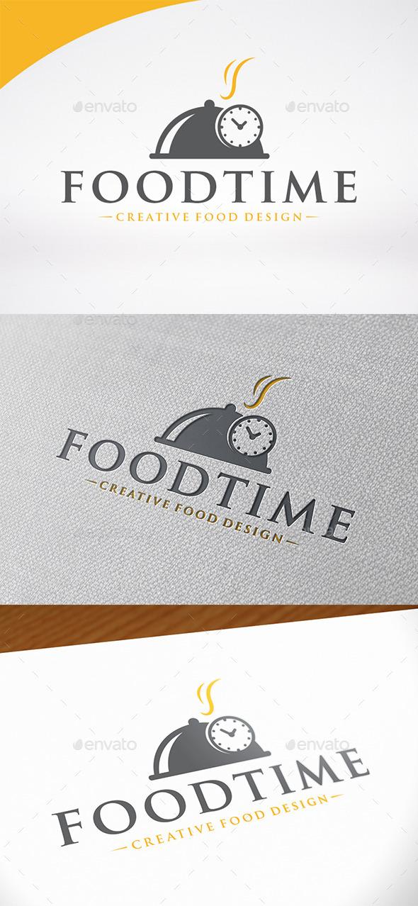 Food Time Logo Template - Food Logo Templates