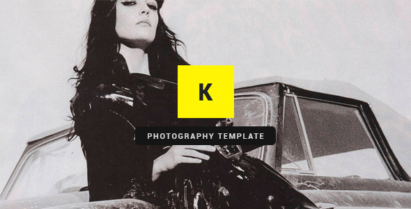 Kito – Photography PSD Template