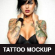 Realistic Tattoo Mockup - GraphicRiver Item for Sale