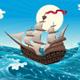 Galleon in the Sea  - GraphicRiver Item for Sale