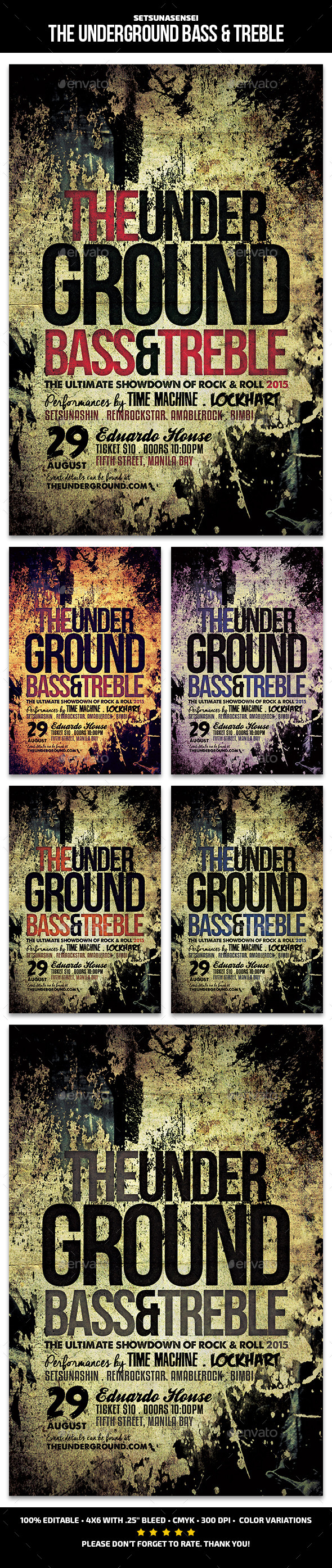 The Underground Bass and Treble
