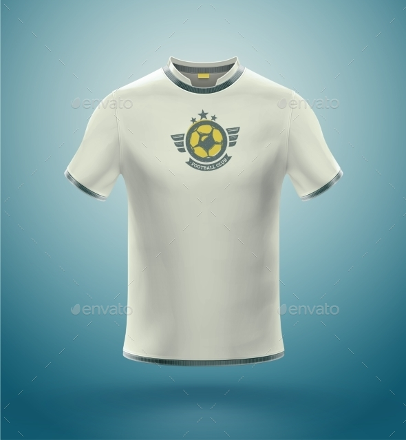 Soccer T-Shirt - Sports/Activity Conceptual