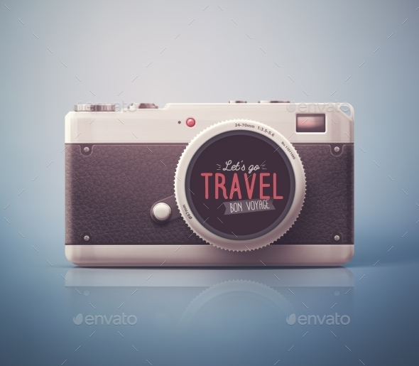 Let's Go Travel - Travel Conceptual